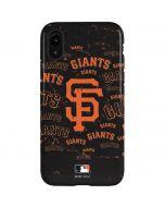 San Francisco Giants - Cap Logo Blast iPhone XR Pro Case