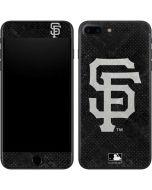 San Francisco Giants Dark Wash iPhone 8 Plus Skin