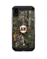 San Francisco Giants Realtree Xtra Green Camo iPhone XR Cargo Case