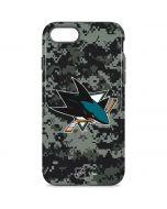 San Jose Sharks Camo iPhone 8 Pro Case