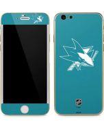 San Jose Sharks Color Pop iPhone 6/6s Skin