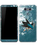 San Jose Sharks Frozen LG G6 Skin