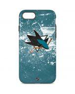 San Jose Sharks Frozen iPhone 8 Pro Case