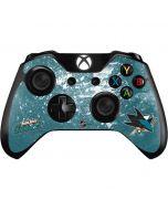 San Jose Sharks Frozen Xbox One Controller Skin