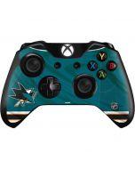 San Jose Sharks Home Jersey Xbox One Controller Skin