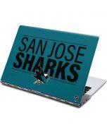 San Jose Sharks Lineup Yoga 910 2-in-1 14in Touch-Screen Skin