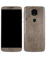 Sandstone Concrete Moto E5 Plus Skin