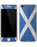 Scotland Flag Distressed iPhone 6/6s Skin