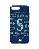 Seattle Mariners - Cap Logo Blast iPhone 7 Plus Pro Case