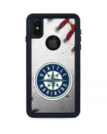 Seattle Mariners Game Ball iPhone XS Waterproof Case