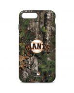 San Francisco Giants Realtree Xtra Green Camo iPhone 8 Plus Pro Case