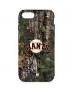 San Francisco Giants Realtree Xtra Green Camo iPhone 8 Pro Case