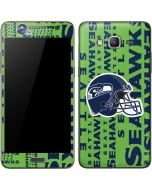 Seattle Seahawks - Blast Green Galaxy Grand Prime Skin