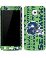 Seattle Seahawks - Blast Green Galaxy S6 Edge Skin