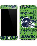 Seattle Seahawks - Blast Green iPhone 6/6s Plus Skin