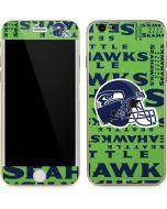 Seattle Seahawks - Blast Green iPhone 6/6s Skin