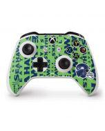 Seattle Seahawks - Blast Green Xbox One S Controller Skin