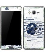 Seattle Seahawks - Blast White Galaxy Grand Prime Skin