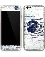 Seattle Seahawks - Blast White iPhone 6/6s Skin
