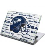 Seattle Seahawks - Blast White Yoga 910 2-in-1 14in Touch-Screen Skin