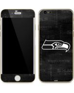 Seattle Seahawks Black & White iPhone 6/6s Skin