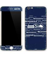 Seattle Seahawks Blue Blast iPhone 6/6s Plus Skin