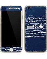 Seattle Seahawks Blue Blast iPhone 6/6s Skin