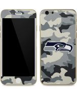Seattle Seahawks Camo iPhone 6/6s Skin