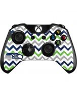 Seattle Seahawks Chevron Xbox One Controller Skin