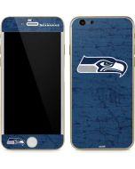 Seattle Seahawks Distressed iPhone 6/6s Skin