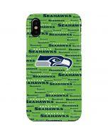 Seattle Seahawks Green Blast iPhone XS Max Lite Case