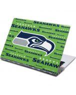Seattle Seahawks Green Blast Yoga 910 2-in-1 14in Touch-Screen Skin