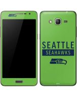 Seattle Seahawks Green Performance Series Galaxy Grand Prime Skin