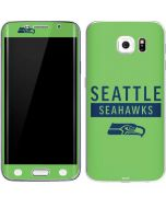 Seattle Seahawks Green Performance Series Galaxy S6 Edge Skin