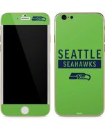 Seattle Seahawks Green Performance Series iPhone 6/6s Skin