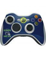 Seattle Seahawks Helmet Xbox 360 Wireless Controller Skin