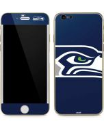 Seattle Seahawks Large Logo iPhone 6/6s Skin