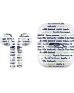Seattle Seahawks Print Apple AirPods 2 Skin