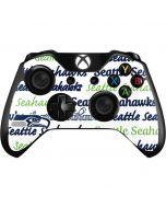 Seattle Seahawks Print Xbox One Controller Skin