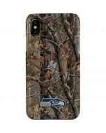 Seattle Seahawks Realtree AP Camo iPhone XS Max Lite Case