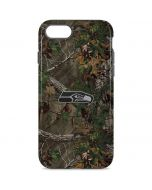 Seattle Seahawks Realtree Xtra Green Camo iPhone 8 Pro Case