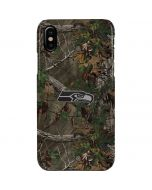 Seattle Seahawks Realtree Xtra Green Camo iPhone XS Max Lite Case