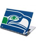 Seattle Seahawks Retro Logo Yoga 910 2-in-1 14in Touch-Screen Skin