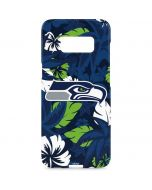 Seattle Seahawks Tropical Print Galaxy S8 Plus Lite Case