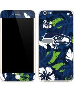 Seattle Seahawks Tropical Print iPhone 6/6s Plus Skin