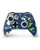 Seattle Seahawks Tropical Print Xbox One S Controller Skin