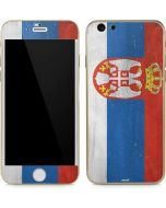 Serbia Flag Distressed iPhone 6/6s Skin