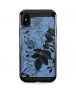 Serenity Floral iPhone X Cargo Case