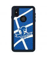 Seton Hall Zoomed Basketball iPhone XS Waterproof Case