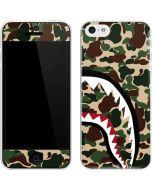 Shark Teeth Street Camo iPhone 5c Skin
